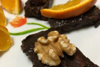 Yulaf Kepekli Çikolatalı Bar